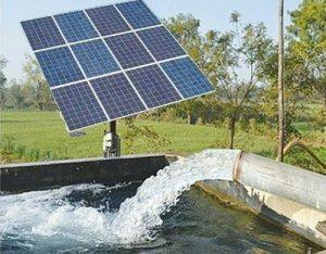 Generador fotovoltaico de 12 paneles para bombeo