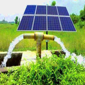 Irrigación por bombeo solar