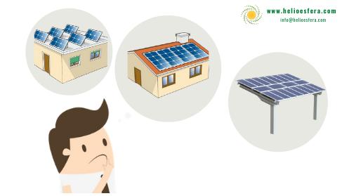 Cómo y donde instalar paneles fotovoltaicos